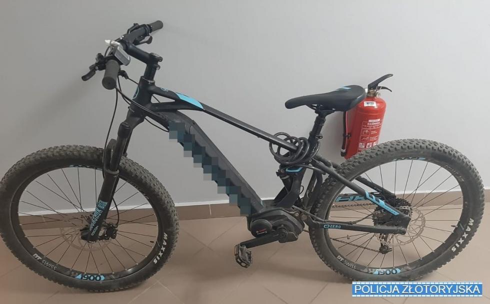 Ukradł rower, a potem ukrył go wlesie
