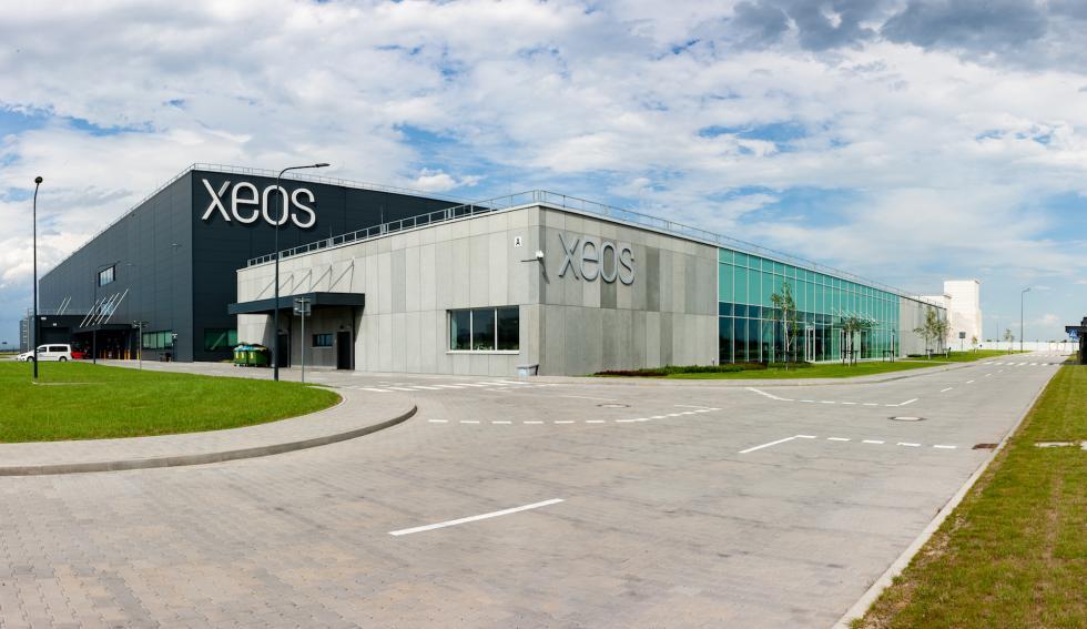 Hibernacja centrum serwisowania silników lotniczych XEOS wŚrodzie Śląskiej