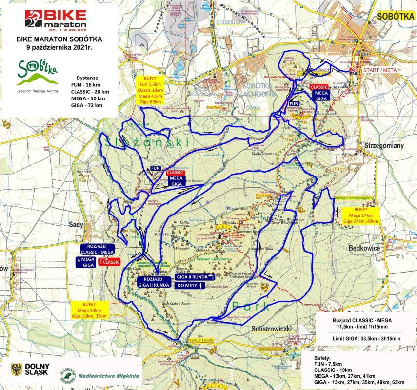 Bike Maraton melduje się wSobótce – zobacz trasy iprofile